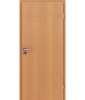 Veneered interior door with longitudinal structure GREENline – Beech