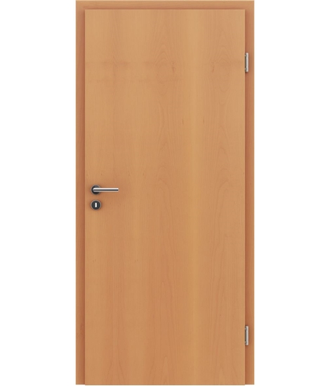Veneered interior door with longitudinal structure GREENline – Beech