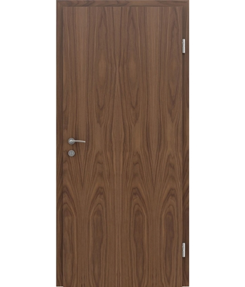 Veneered interior door with longitudinal structure GREENline – Walnut