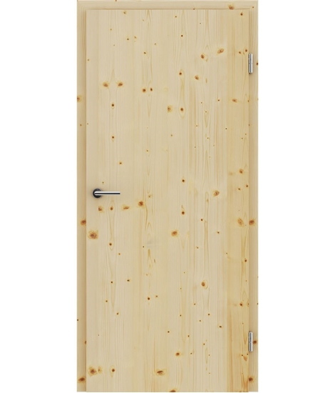 Veneered interior door with longitudinal structure GREENline – Spruce knotty