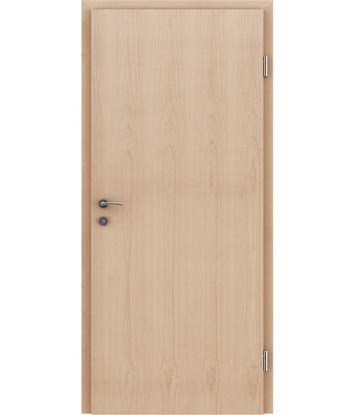 Veneered interior door with longitudinal structure GREENline – Beech dry-sanded