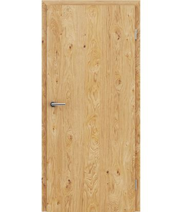 Picture of Veneered interior door with longitudinal structure GREENline – Oak knotty oiled
