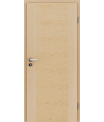 Veneered interior door with a combination of a transverse and longitudinal structure VIVCEline – F1 Maple