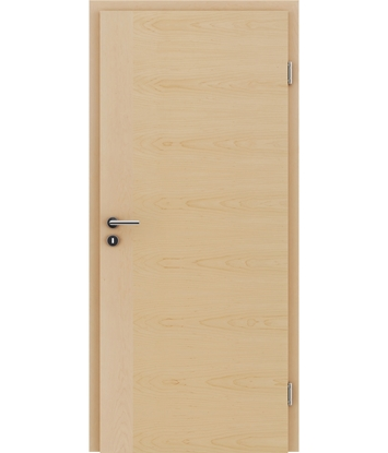 Veneered interior door with a combination of a transverse and longitudinal structure VIVCEline – F3 Maple
