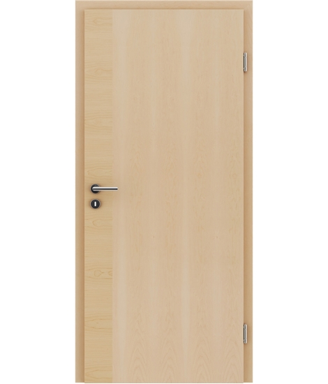 Veneered interior door with a combination of a transverse and longitudinal structure VIVCEline – F12 Maple