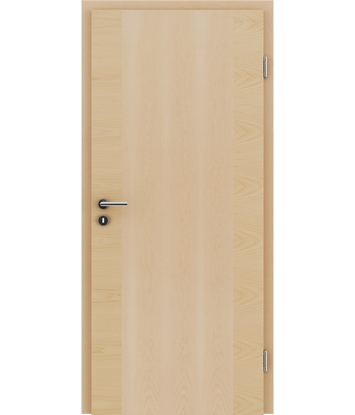 Veneered interior door with a combination of a transverse and longitudinal structure VIVCEline – F14 Maple