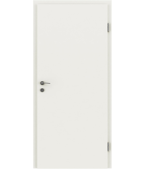 CPL interior door for simple maintenance VISIOline \u2013 White