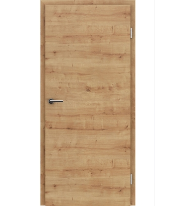 Picture of CPL interior door TOPline – L1 DYNAMIC oak knotty 3D