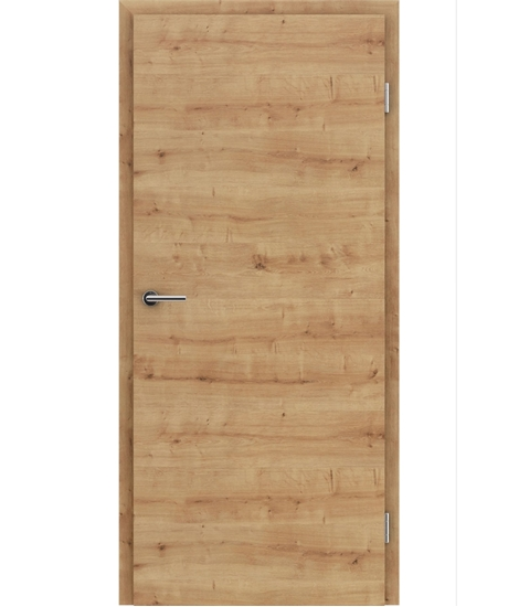 CPL interior door TOPline – L1 DYNAMIC oak knotty 3D
