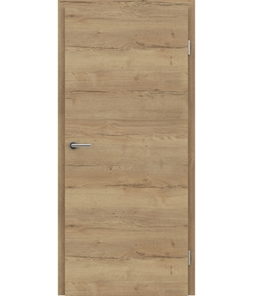 CPL interior door TOPline – L1 DYNAMIC oak crack