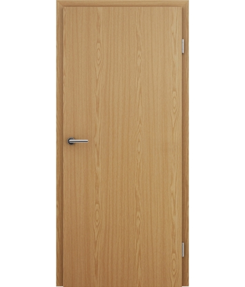Picture of Interior door with veneer imitation BASICline – Oak bright