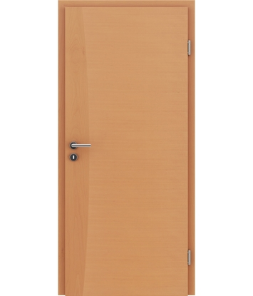 Picture of Veneered interior door with intarsia strips HIGHline – I14 Beech
