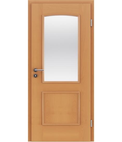 Veneered interior door with decorative strips STILline – SOA SO3 Beech