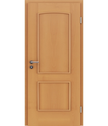 Picture of Veneered interior door with decorative strips STILline – SOAD Beech