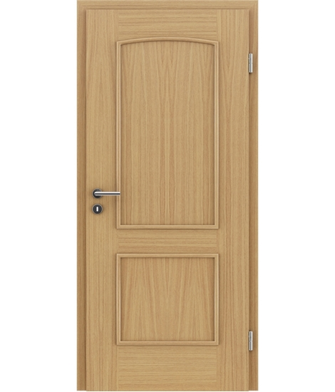 Veneered Interior Door With Decorative Strips Stilline Soad