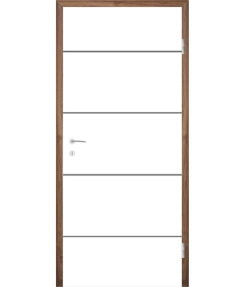 White-lacquered interior door COLORline – EASY R27L