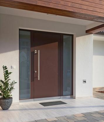 Wooden front doors TREND