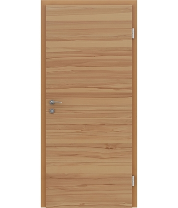 Veneered interior door with a combination of a transverse and longitudinal structure VIVCEline – F4 Beech core