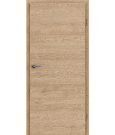 CPL interior door TOPline PRESTIGE - L1 oak FOREST brown
