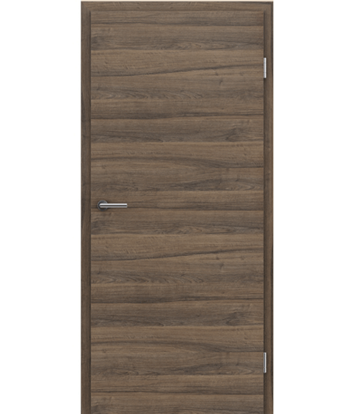 CPL interior door TOPline MATTLINE - L1 walnut TROPIC