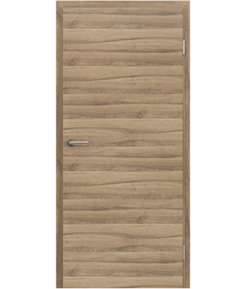 CPL interior door TOPline MATTLINE - L1 walnut MEDITERAN