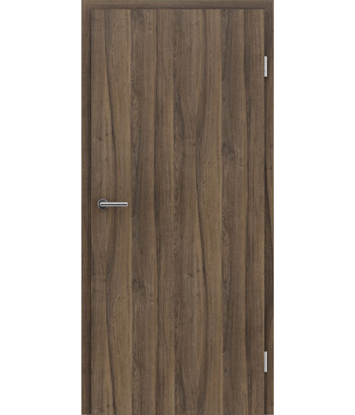 CPL interior door TOPline MATTLINE - walnut TROPIC