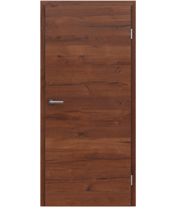 Picture of Veneered interior door with a combination of a transverse and longitudinal structure VIVCEline PRESTIGE - F4 oak Altholz matt lacquered