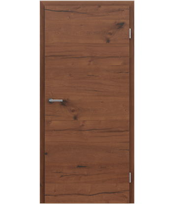 Picture of Veneered interior door with a combination of a transverse and longitudinal structure VIVCEline PRESTIGE - F4 oak Altholz oiled