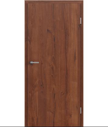 Picture of Veneered interior door with longitudinal structure GREENline PRESTIGE - oak Altholz matt lacquered