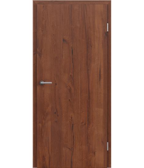 Veneered interior door with longitudinal structure GREENline PRESTIGE - oak Altholz matt lacquered