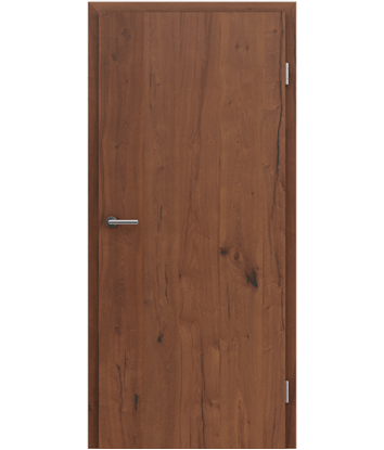 Picture of Veneered interior door with longitudinal structure GREENline PRESTIGE - oak Altholz oiled