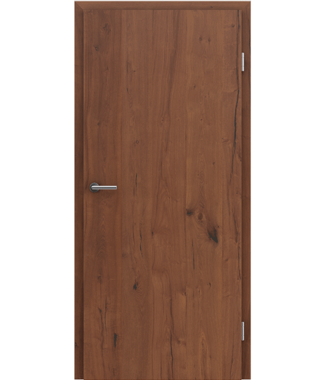 Veneered interior door with longitudinal structure GREENline PRESTIGE - oak Altholz oiled