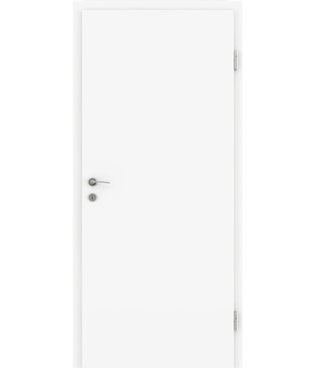 Picture of White-lacquered interior door COLORline – EASY